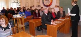 Засідання обласної методичної секції педагогічних працівників будівельних професій та народних промислів