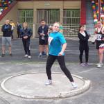 На легкоатлетичних доріжках учні ПТНЗ