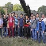 Учні ТВПУ №4 привітали військових Тернопільської 44 окремої артилерійської бригади із другою річницею створення