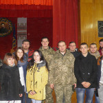 Зустріч їз героями – оборонцями української землі