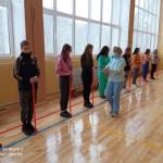 Перші уроки у відремонтованому  спортивному залі